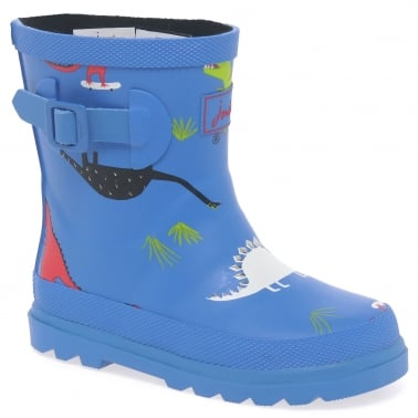 Baby Boys Printed Welly