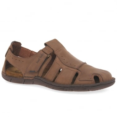 Paul Mens Velcro Fastening Sandals