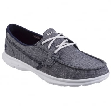 Go Step Marina Womens Casual Boat Shoes