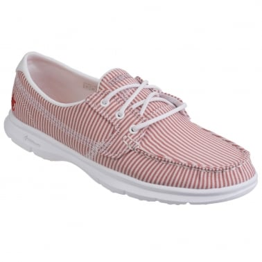 GO Step Sandy Womens Casual Boat Shoes