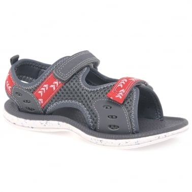 Doodles Piranha Boy Velcro Fastening Boys Sandals