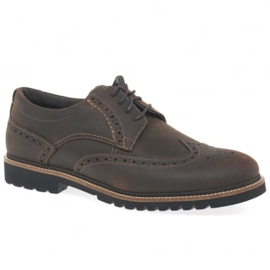 Marshall Wing Tip Mens Brogues