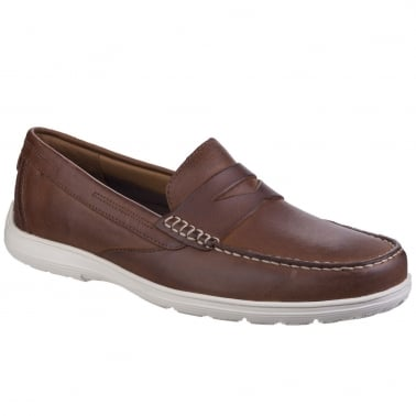 Penny Loafer Mens Casual Slip On Shoes