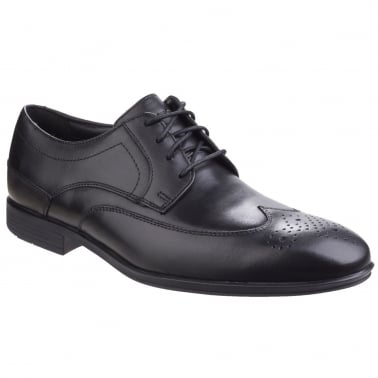 Style Connected Mens Wing Tip Formal Shoes