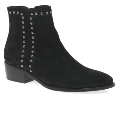 Effect Womens Modern Zip Fastening Ankle Boots