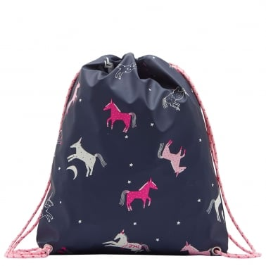 Rubber Girls Drawstring Bag