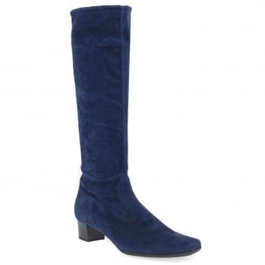 Aila Womens Long Suede Boots