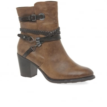 Manks Womens Casual Ankle Boots