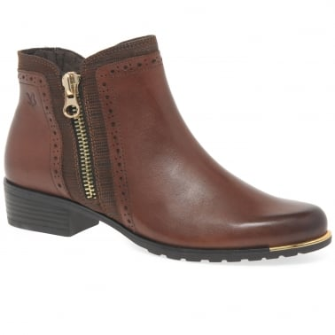Amelia Womens Zip Fastening Ankle Boots