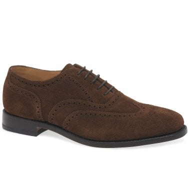 Luke Suede Mens Formal Lace Up Shoes