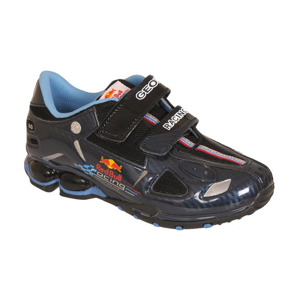 Elegibilidad Clip mariposa Anuncio  Geox Red Bull Fighter Boys' Trainer J11K6A - Trainers from Charles Clinkard  UK