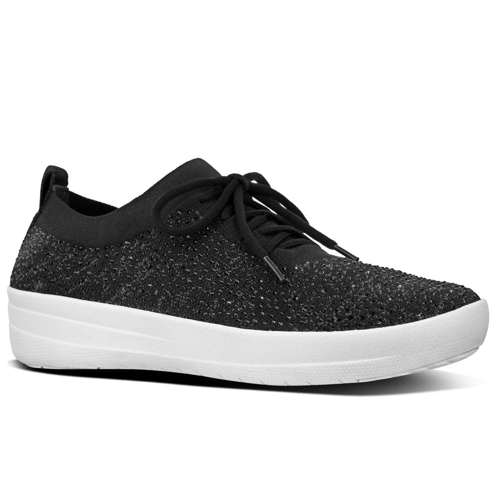 fitflop crystal sneakers