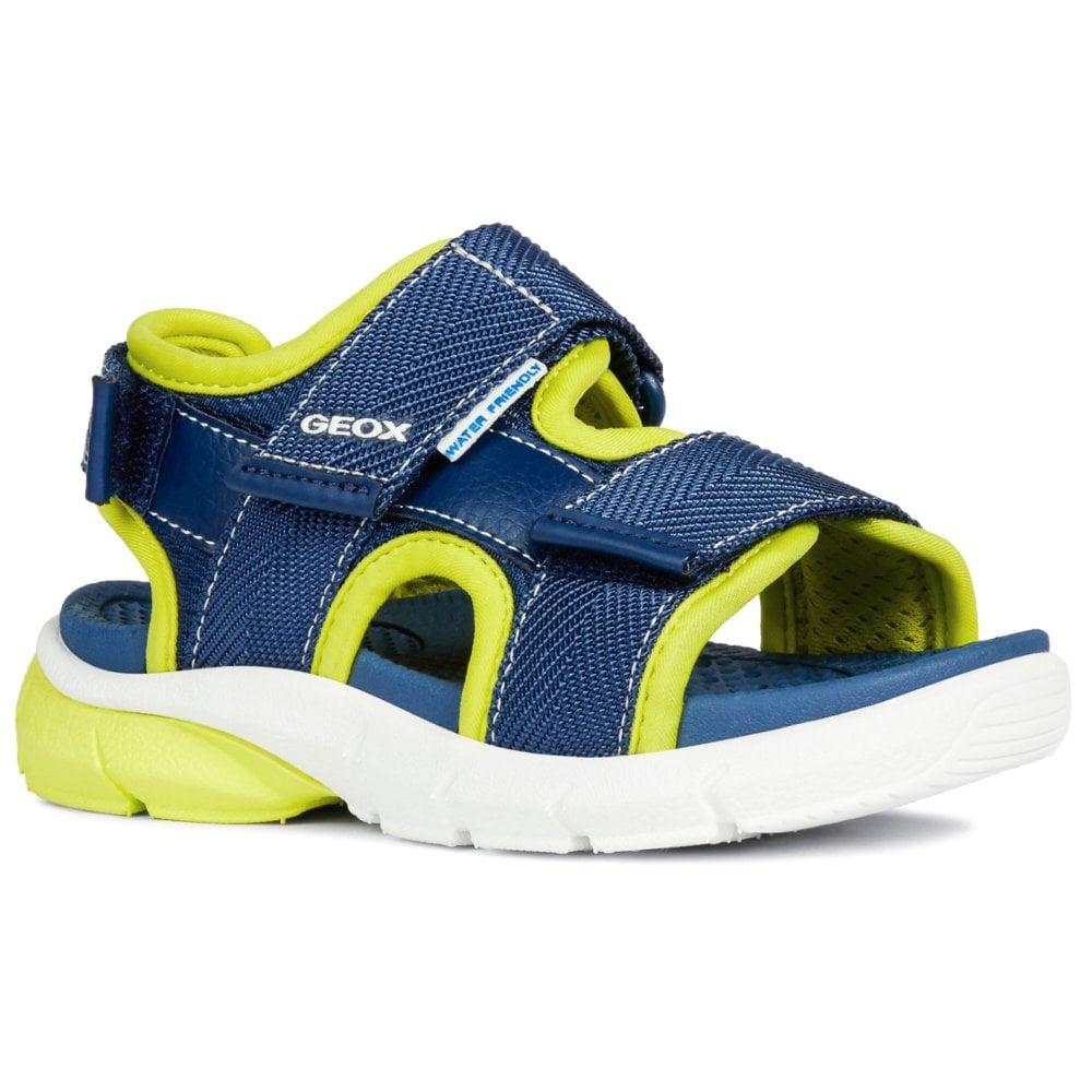 Geox Junior Flexyper Boys Open Toe Sandals | Charles Clinkard